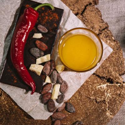 Шоколад Жужуshop на меду Чилі 100 г